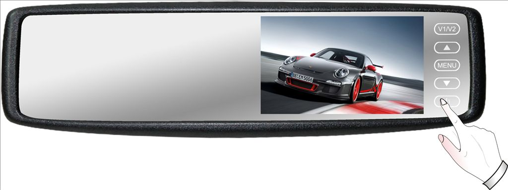 4.3 inch Rear View mirror monitor
